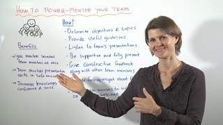 How to Power Mentor Your Team – Leadership Training