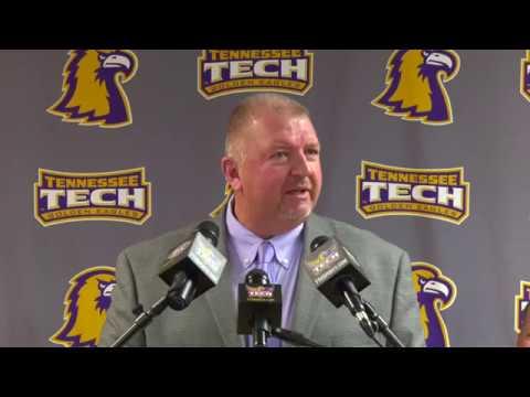 Press Conference- Dewayne Alexander named TTU head football coach