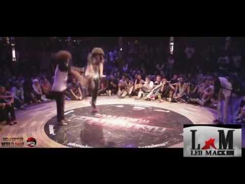 Passinho do Romano em show de Street Dance/ Brake dance (Lele  & Negao)
