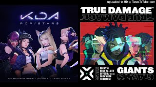 MASHUP | True Damage Vs. K/DA - POP/GIANTS | C013 Huff Video