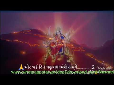 Navratri Whatsapp Status Video Download | Navratri Special