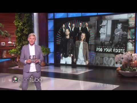 Backstreet Boys & Florida Georgia Line - God Your Mama and Me (Live on Ellen Show)