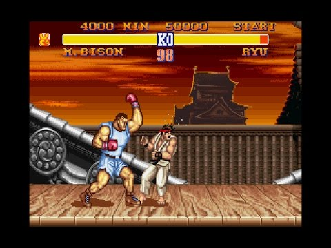 original street fighter video game