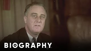 Franklin D. Roosevelt: President and Leader of an Economic Renaissance | Mini Bio | BIO