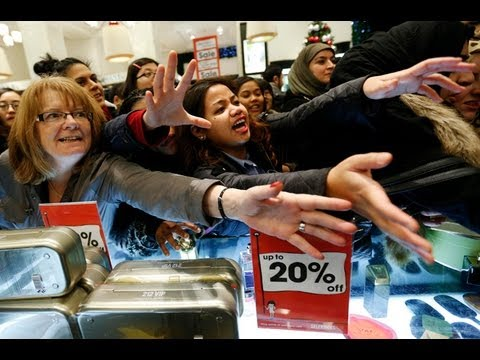Shoppers indulge in Britain's Boxing Day