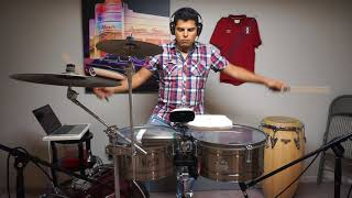 Marc Anthony ft. Maluma - Felices los 4 (Salsa) Cover Timbal