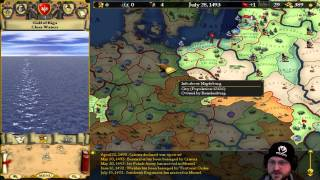 Europa Universalis 1 [Gameplay/Livestream] - Part 1