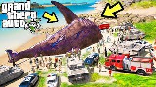 Gta 5: Военные поймали самую большую акулу в лос-сантосе - нападаю на их базу!