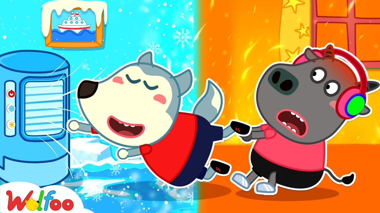 Download Wolfoo and Hot vs Cold Challenge - Wolfoo Kids Stories | Wolfoo Family Kids Cartoon