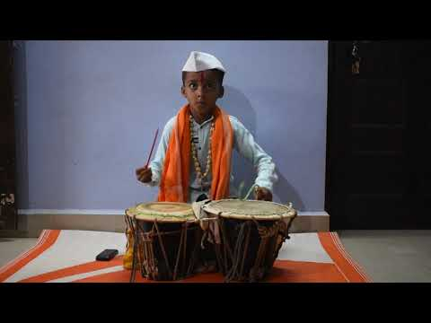 Most Talented KID Playing sambal vadan(संबळ वाद्य)  KOLHAPUR