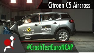 Citroen C5 Aircross - 2019 - Crash test Euro NCAP