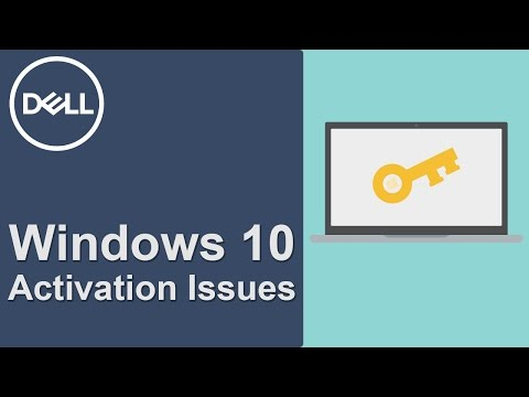 OEM Windows 10 Activation (Official Dell Tech Support)