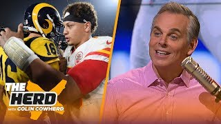 Colin Cowherd reacts to the Chiefs vs. Rams MNF thriller | NFL | THE HERD
