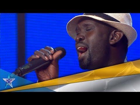 ¡Menuda VOZ! ¡Este SENEGALÉS consigue un PASE DE ORO! | Audiciones 7 | Got Talent España 5 (2019)