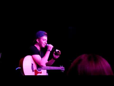 Jack Avery performing his cover of Say You Wont Let Go by James Arthur at Taking You Seattle