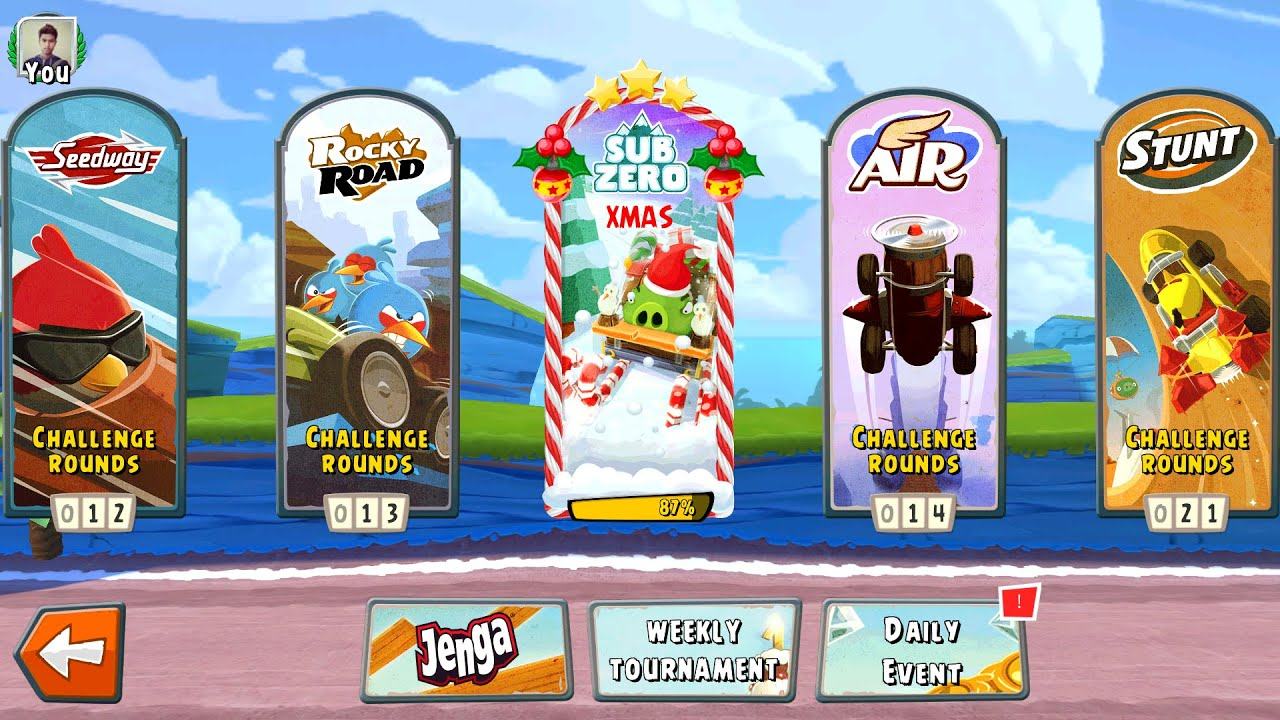 Angry Birds Go! Christmas Update Gameplay Android / IOS