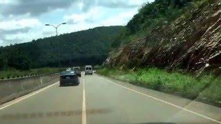 Peduase Mountain Akuapim Ghana. Driving down into Accra [2015]