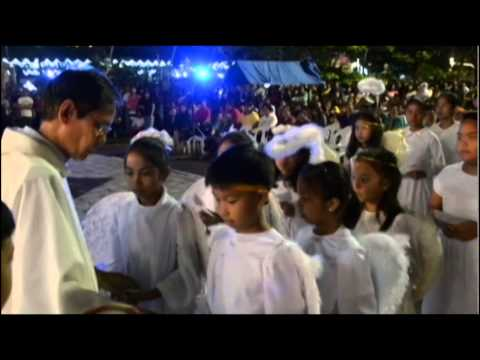 Christmas Eve at Santa Rita Parish, Pampanga, Philippines