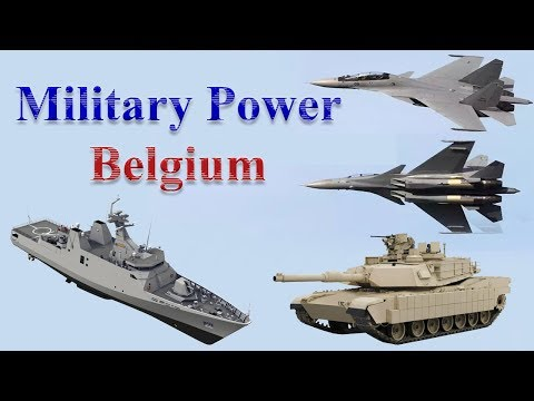 Belgium Military Power 2017