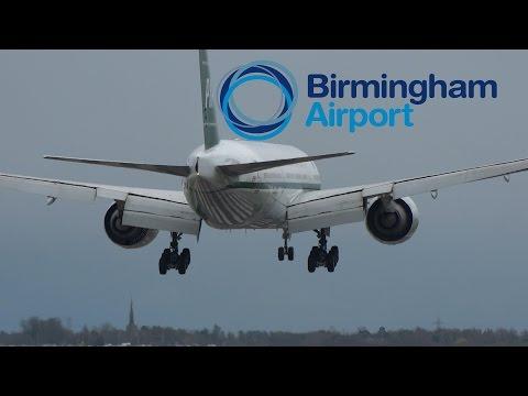 Spotting at Birmingham Airport | 9th April 2016