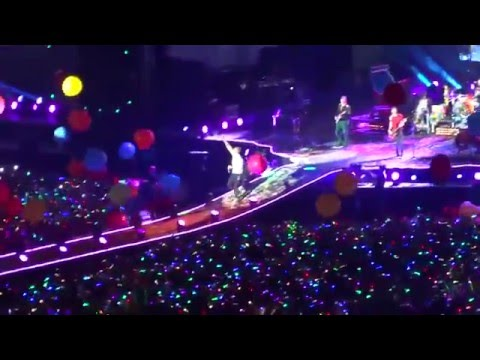 Coldplay Lima Perú - Adventure of a Lifetime (Estadio Nacional) 2016