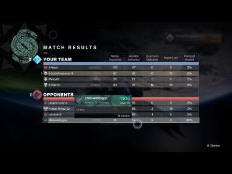 Destiny 2: Gambit comeback against a trash 4 man stacked  squad