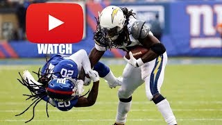Chargers vs Giants NFL Full Condensed Game | Every Play from Week 5