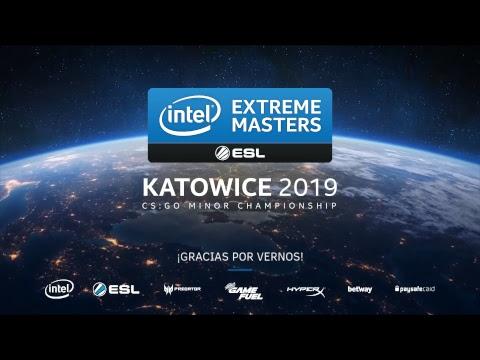 LIVE: IEM Katowice Minor CSGO 2019 - Día 4