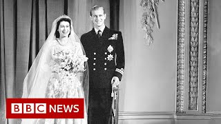Queen Elizabeth II and Prince Philip's wedding - BBC News