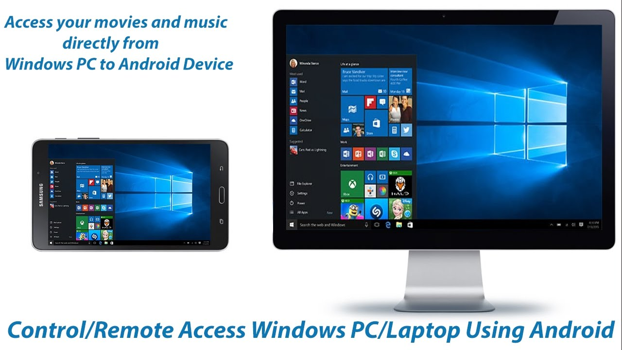 How To Control Or Remote Access Your Windows Pc Laptop