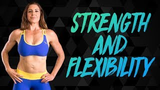 Restorative Stretch & Strength Workout with Dani | Complete Beginners At Home Fitness