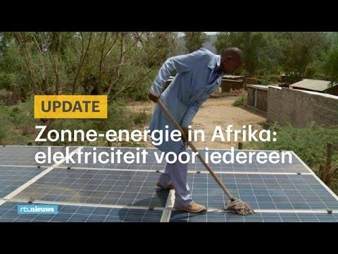 Zonne-energie razend populair in Afrika - RTL NIEUWS