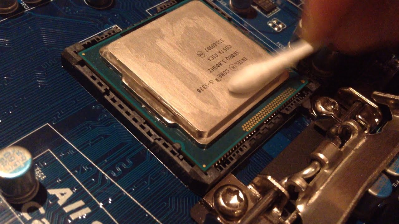 how much thermal paste to apply to cpu