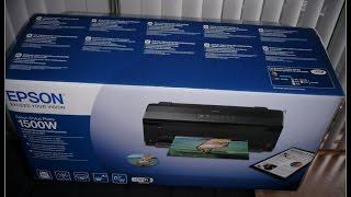 epson Stylus Photo 1500W - Unboxing ITA