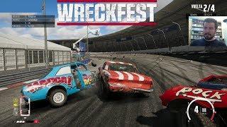 WRECKFEST (PC) #1 - Carreras de destrucción masiva    Gameplay en Español