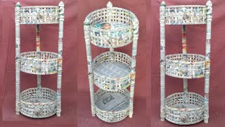 multi storage basket | newspaper basket | newspaper tokri | newspaper craft | HMA##186