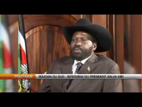 Soudan du Sud : interview du Président Salva Kiir