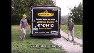 Mowing A Field?