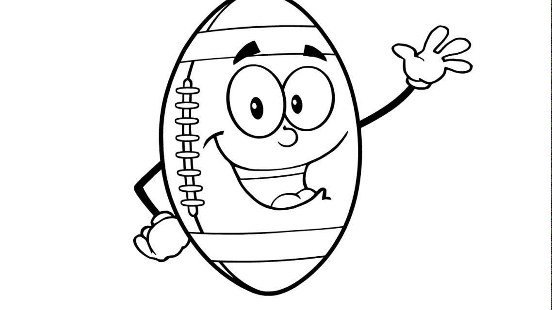 Comment dessiner un ballon de football am ricain youtube - Comment dessiner un but de foot ...