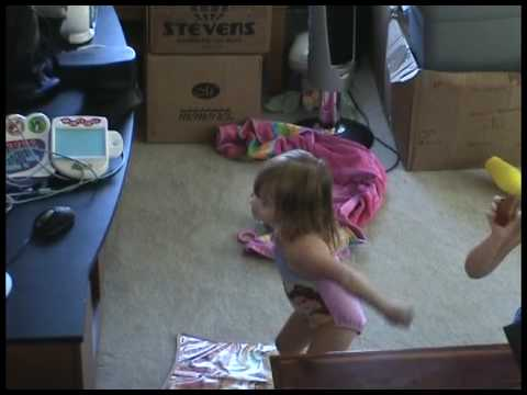 Kaitlyn Dancing Along To Bella Dancerella Disney Princess