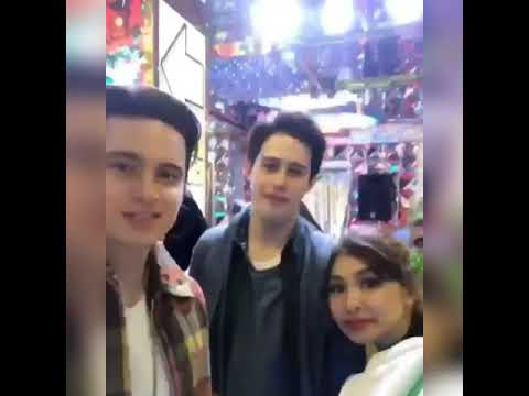 Nadine Lustre 's Birthday With James And Friend In Japan.
