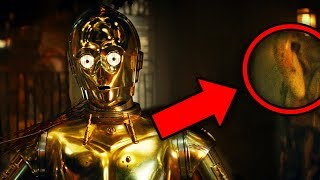 STAR WARS Rise of Skywalker Trailer Breakdown! C-3PO Explained!