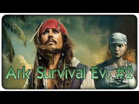 Ark Survival Evolved | La piratessa dei Caraibi - ep. 02 - il survival con i dinosauri [ITA]