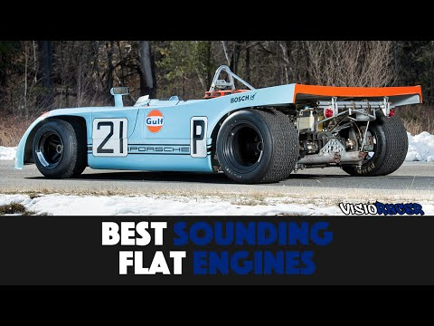 10 Best Sounding Flat Engines