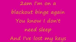 All Time Low- Stella (lyrics on screen)