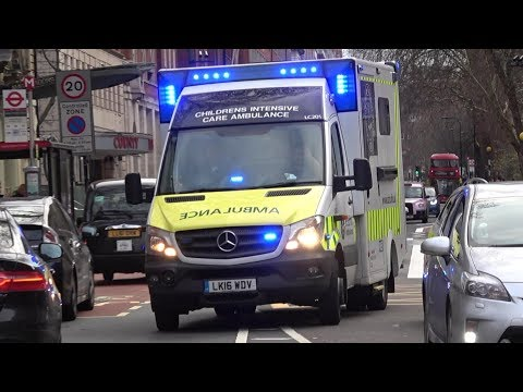 St John Ambulance - Childrens Acute Transport Service (CATS) responding x3