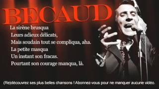 Gilbert Bécaud - Mé qué mé qué - Paroles (Lyrics)