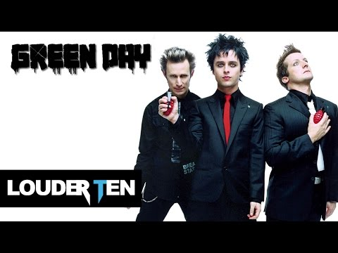Top 10 Green Day Songs - Louder Ten