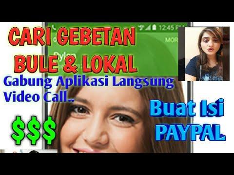 Cara Gampang Isi Paypal Chatting Live   Dibayar Dollar  Cari Jodoh Bule dan Lokal   Gadis