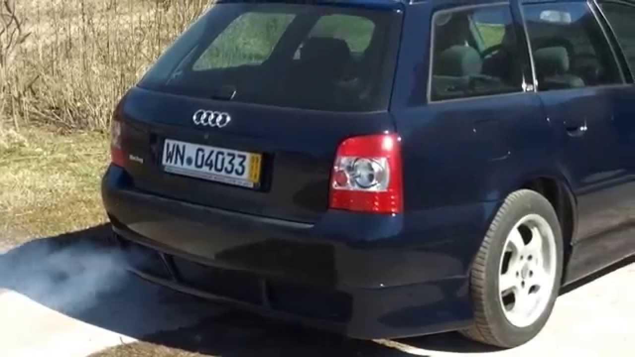 дымит tdi 1.9 volkswagen passat b5